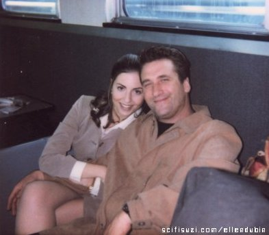 Ellen Dubin and Daniel Baldwin
