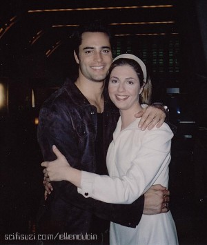 Victor Webster and Ellen Dubin