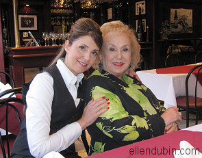 Ellen Dubin and Doris Roberts